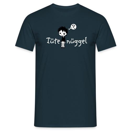 Tütenüggel (Kölsch, Karneval, Köln) - Männer T-Shirt