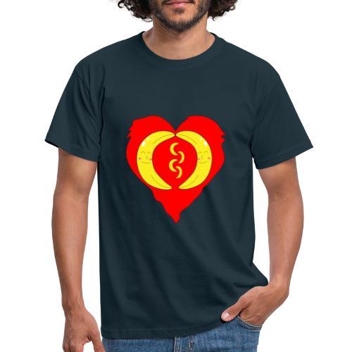 Banana love - Männer T-Shirt
