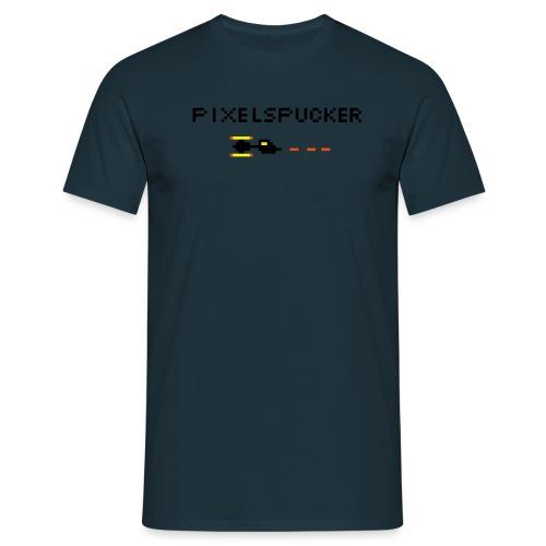 Pixelspucker - Männer T-Shirt