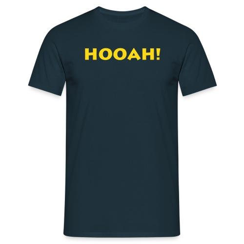 hooah - Männer T-Shirt