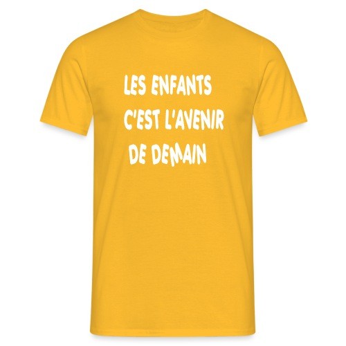 Les enfants c'est l'avenir de demain - T-shirt Homme