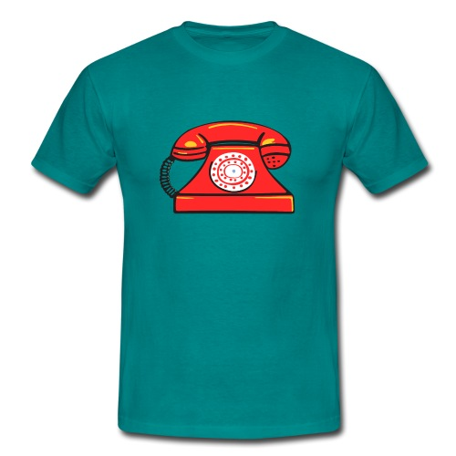 PhoneRED - Men's T-Shirt