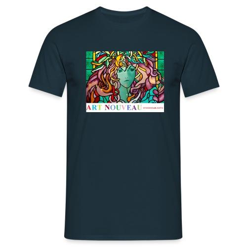art nouveau - T-shirt herr