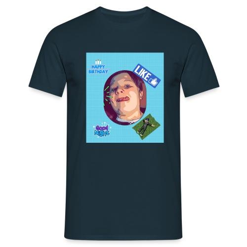 Den Lille bidte - Herre-T-shirt