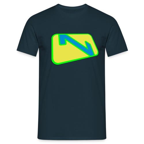 vertex filled 3color - Männer T-Shirt