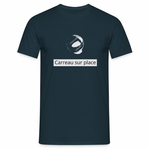 carreaublanc png - T-shirt Homme