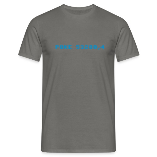 poke 53280 4 - Men's T-Shirt