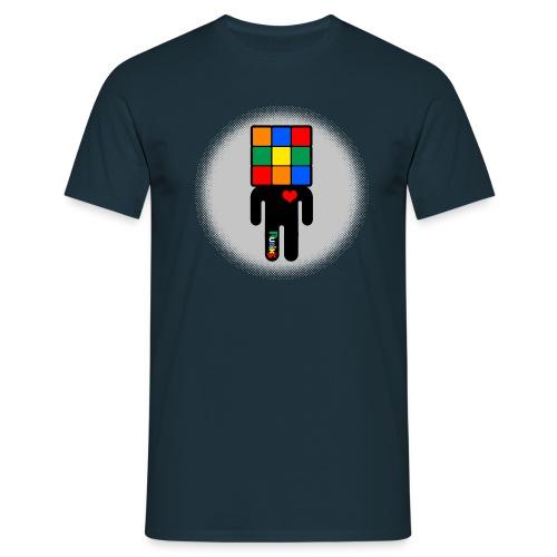 Rubik's Cube Manicon - T-shirt herr