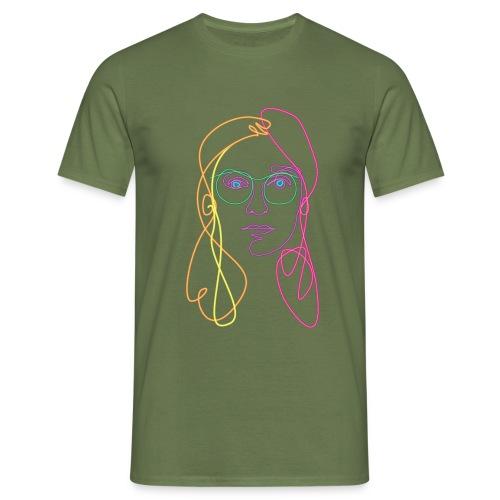 elissa line - Mannen T-shirt