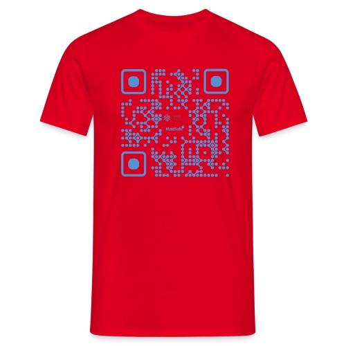 QR Maidsafe.net - Men's T-Shirt