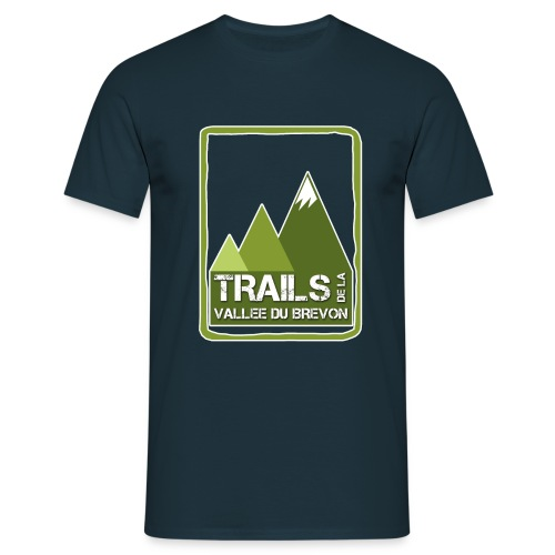 logo trails vb - T-shirt Homme
