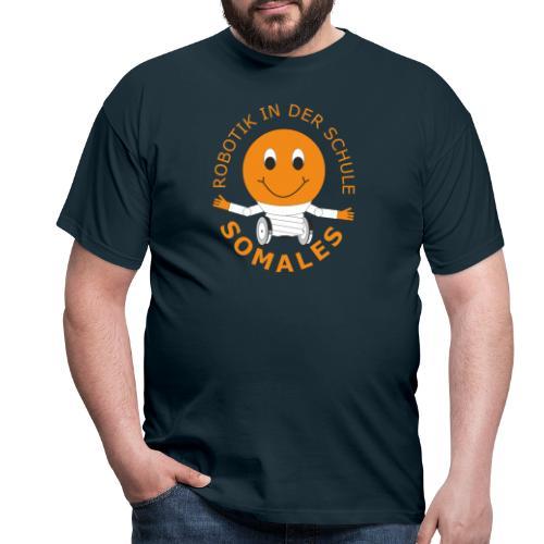 SOMALES - Robotik in der Schule - Männer T-Shirt