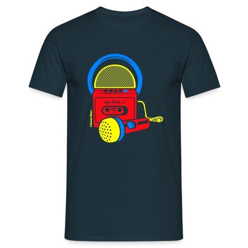 My first Boombox - Mannen T-shirt