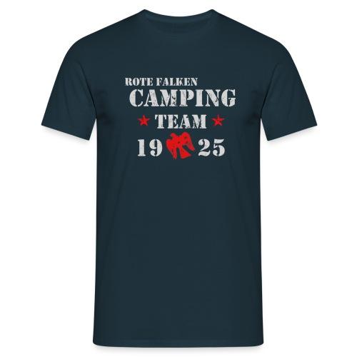 Camping Team 1 front png - Männer T-Shirt