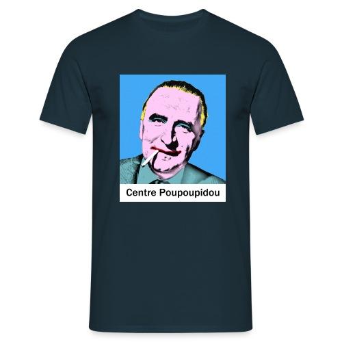 Centre Poupoupidou - T-shirt Homme