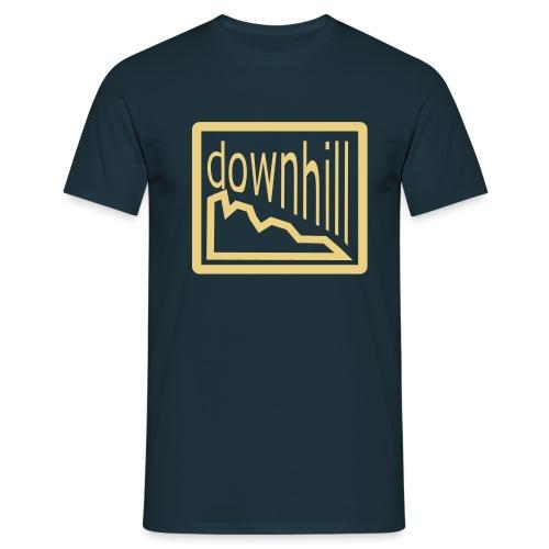 Bike Fashion Downhill - Männer T-Shirt