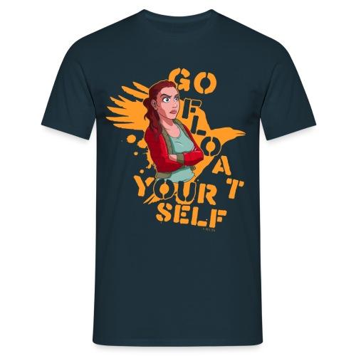 Float Yourself transparent - Männer T-Shirt