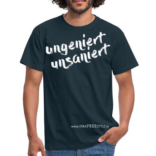 JFS_Claim_Front_dunkel - Männer T-Shirt