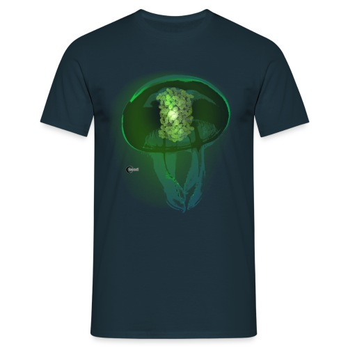 Green Fluorescent Protein - Men's T-Shirt
