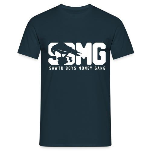 nieuwemaatsbmg text wit 01 png - Mannen T-shirt