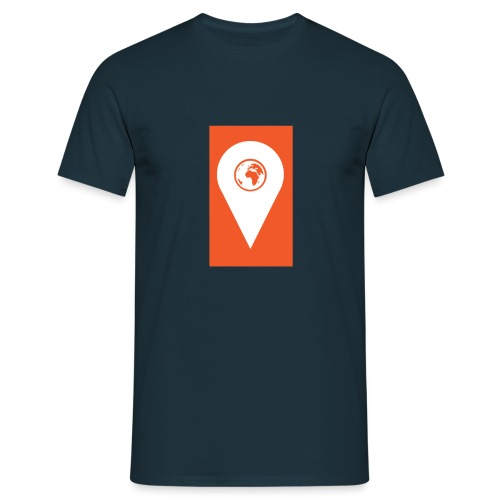 TNR NEW ORANGE EMBLEM - Men's T-Shirt
