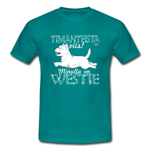 Westie Timantti I - Miesten t-paita