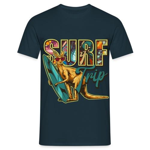 Surf Trip Long Beach - T-shirt Homme