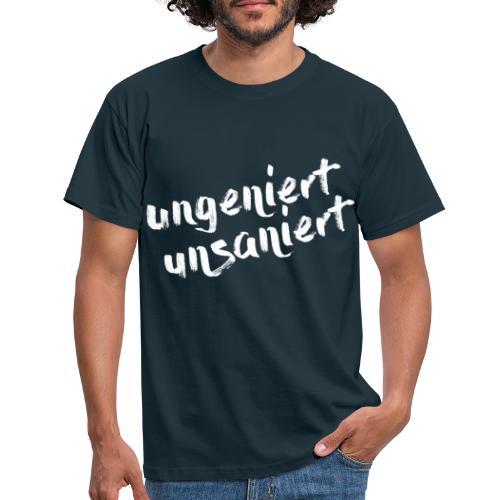 JFS_Claim_weiss - Männer T-Shirt