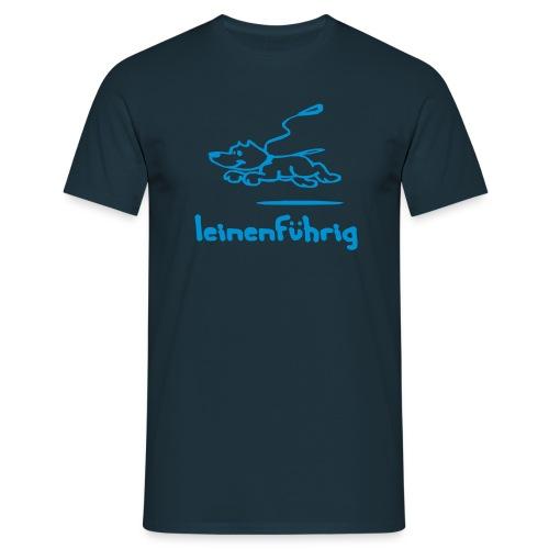 leinenführig - Männer T-Shirt