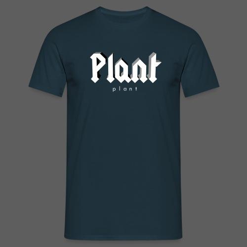 Plant 3D - Männer T-Shirt
