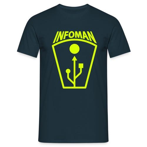 infomanlogo1 - Männer T-Shirt