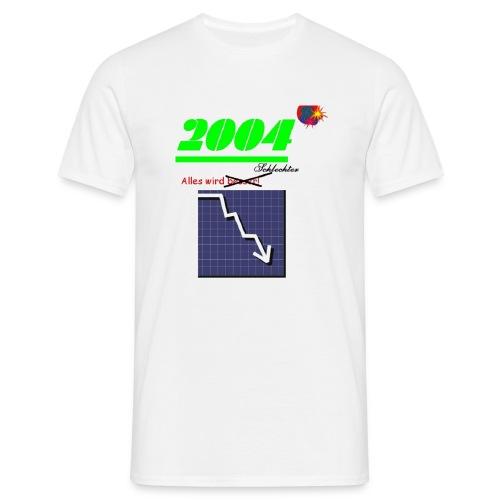 schlechter1 - Männer T-Shirt