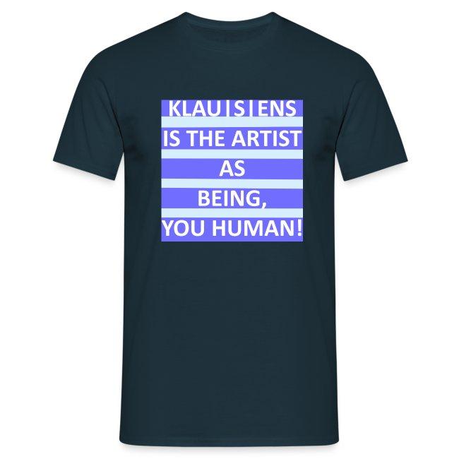 KLAUSENS IS THE ARTIST