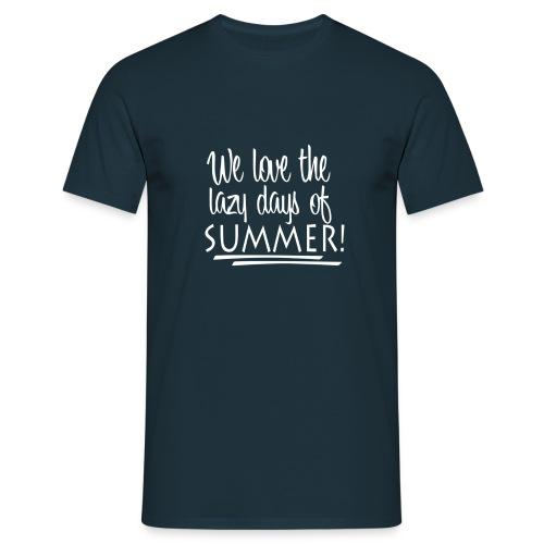 La paresse en été - T-shirt Homme