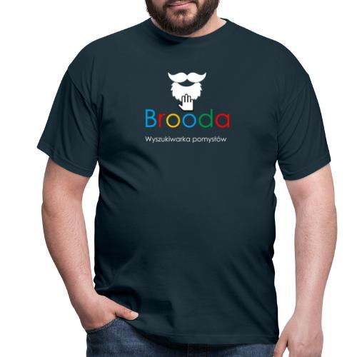 Koszulka wyszukiwarka: Google - Broda - Koszulka męska