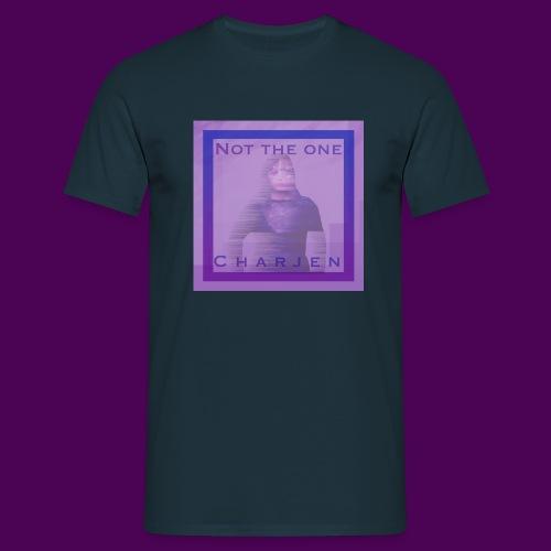 Not the one - T-skjorte for menn
