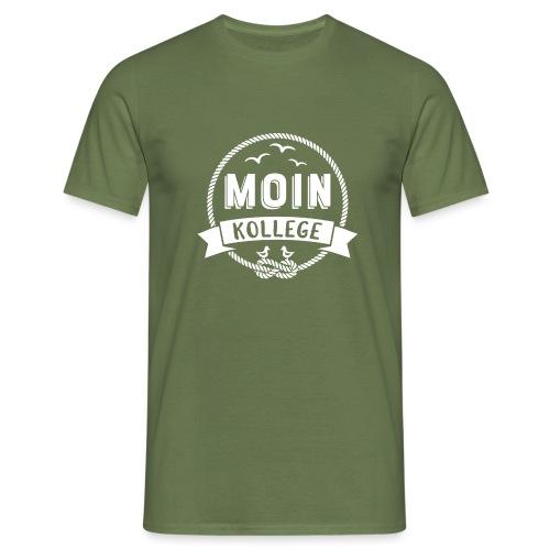 Moin Kollege Geschenk für Strandliebhaber - Männer T-Shirt