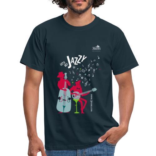 3Jazzy Blumen - Männer T-Shirt