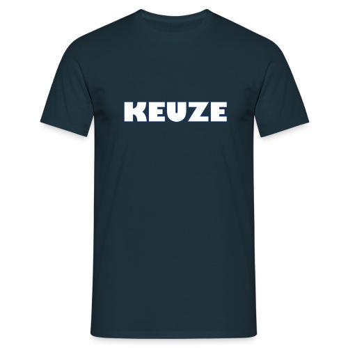 OFFICIAL KEUZEBE MERCHANDISE - Mannen T-shirt