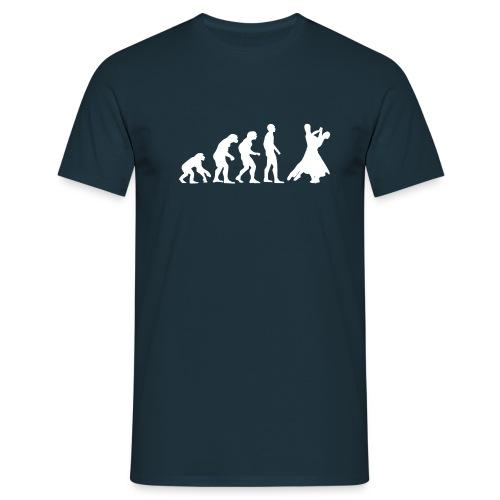 Evolution - Tanzen - weiß - Männer T-Shirt