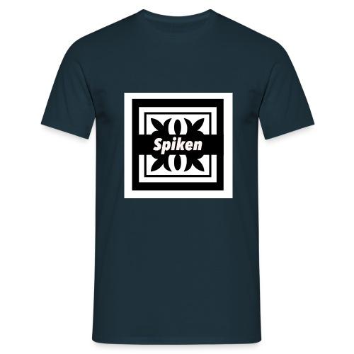 Spiken Script - Männer T-Shirt