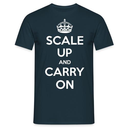 scale up - Men's T-Shirt