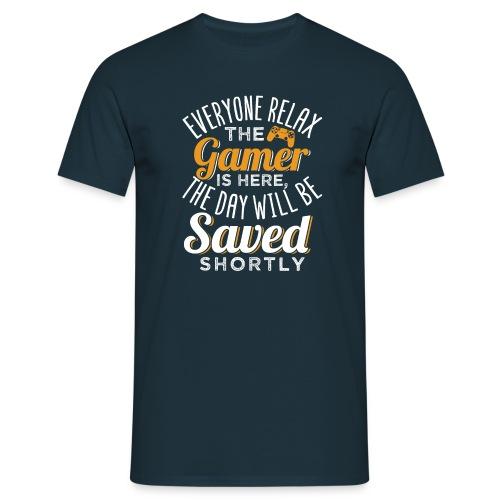Relax The Gamer Is Here - Männer T-Shirt