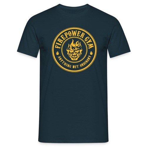 Firepower Gym Logo - Men's T-Shirt