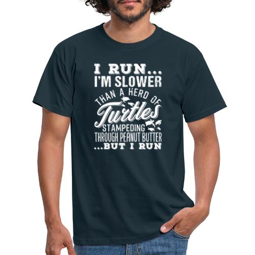 Run Turtles As Fast As We Can - Männer T-Shirt