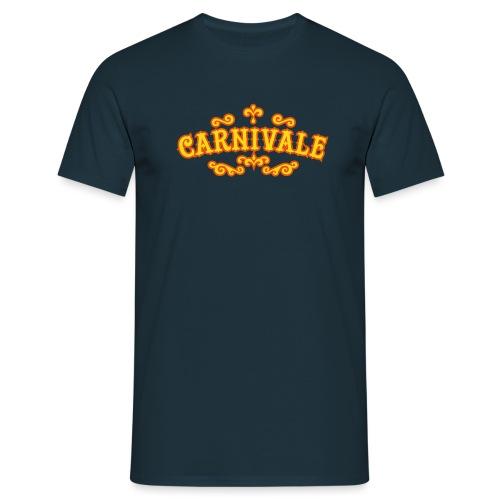 logo_carnivale_outline - Mannen T-shirt