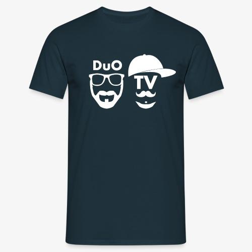 DuO TV Memes (white) - Männer T-Shirt