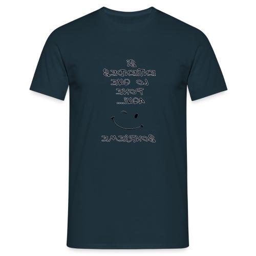 Para el espejo: SI ENTIENDES LO QUE PONE AQUI - Camiseta hombre