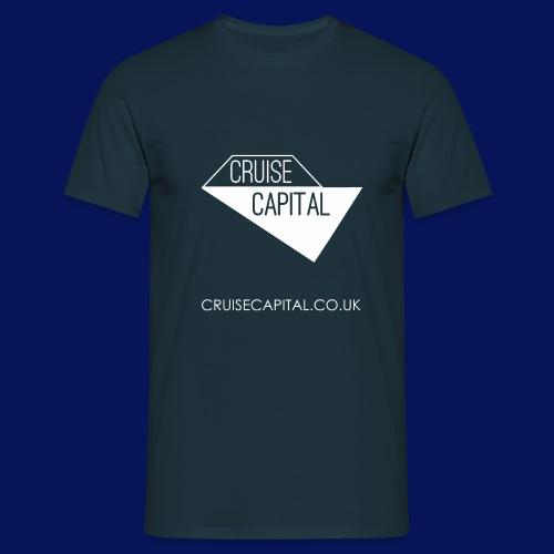 cruisecapitallogo1fweblink png - Men's T-Shirt