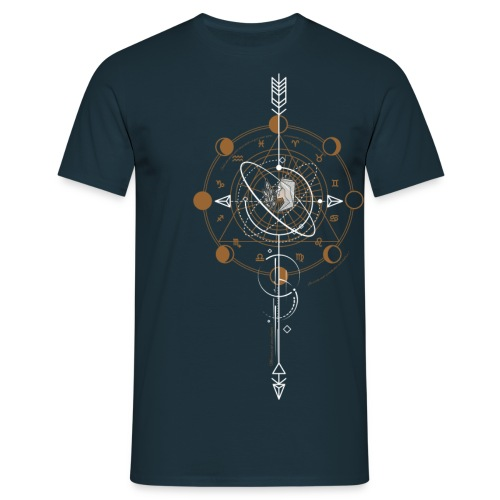 GEOMETRIC VIERGE png - T-shirt Homme
